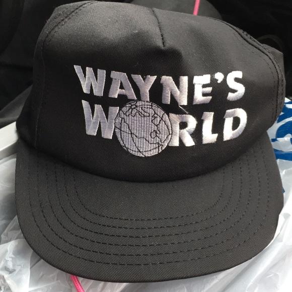 6bc4ce815388e Vintage Wayne s world hat. M 5c42243204e33d12155949c7